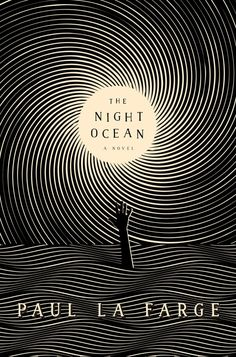 Cover Story: The Night Ocean by Paul La FargeYou can find Book covers and more on our website.Cover Story: The Night Ocean by Paul La Farge Best Book Covers, Beautiful Book Covers, Book Cover Art, Typography Design, Lettering, Plakat Design, Buch Design, Thriller Books, Mystery Thriller