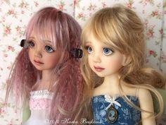 Fair and Light Tan Ruby MSD BJD by Liz Frost