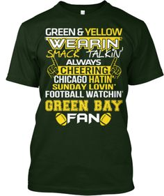 Die Hard fan for life  ) · Green Bay Packers Tees - Limited Edition  30d2d9811