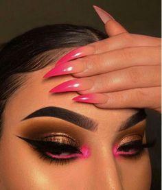 for makeup eyeshadow do eyeshadow makeup makeup pink Baddie Makeup dupes eye Eyeshadow Makeup Pink Makeup Eye Looks, Eye Makeup Art, Cute Makeup, Glam Makeup, Pretty Makeup, Beauty Makeup, Makeup Eyeshadow, Makeup Wings, Gorgeous Makeup