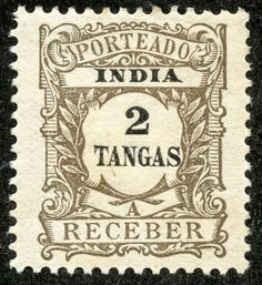 "Scott 168 orange ""Portuguese Crown"" Quick History Portugal and India have been interacting with each other ever since Vasco . Book Wrap, Old Stamps, Information Overload, East Africa, Brown And Grey, Gray, Portuguese, Postage Stamps, Ephemera"