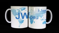 World Map design JW.Org Mugs...Special Price for a limited time!