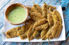 Fried Sardines With Parsley Caper Sauce