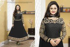#RashmiDesai In Black #SalwarSuit  #craftshopsindia