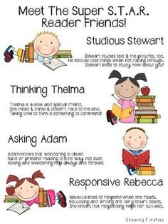 STAR Readers: Strategies resources for guided reading groups or Readers Workshop