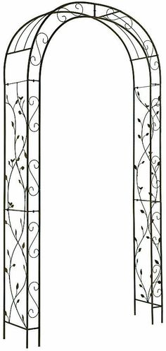 Garden Archway Arbor Wedding Trellis Backyard Entryway Patio Outdoor Decor for sale online Pergola Metal, Metal Arbor, Wood Arbor, Cheap Pergola, Outdoor Pergola, Wooden Pergola, Backyard Pergola, Pergola Plans, Pergola Ideas