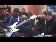 Brian Culbertson's BCXII Video Blog 37 (NateWatts) Nate Watts, what a cool guy and a damn fine bass player