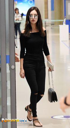 Snsd seohyun airport fashion style