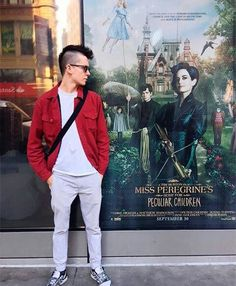 kiki0113 // asa butterfield // mis peregrine's home for peculiar children