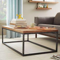 Box Frame Coffee Table - Café | West Elm