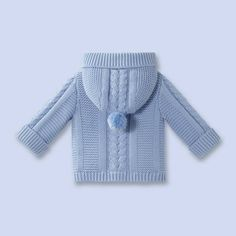 Baby Boy Hooded Cardigan Models – Hooded Baby Boy Cardigans – Özlem Yıldırım – Join in the world of pin Baby Knitting Patterns, Baby Cardigan Knitting Pattern, Knitting For Kids, Baby Patterns, Baby Boy Cardigan, Knitted Baby Cardigan, Hooded Cardigan, Handgestrickte Pullover, Baby Overall