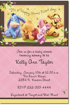 Winnie the pooh baby shower invitation printable by littleforests winnie the pooh baby shower invitations instant download filmwisefo