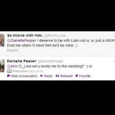 You go girl! DANIELLE PEAZER IS BRILLIANT