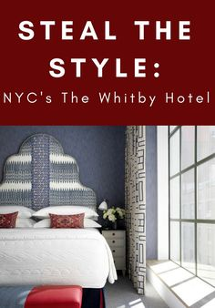 If you're ever hurting for home inspo, all you need do is look to your favorite hotel. With iconic designer-backed style and centerfold-worthy layouts, they know what's up. This week, we set our sights on the beguiling Whitby Hotel in midtown Manhattan. Travel Shoes Women, Best Travel Accessories, Icon Design, Layout, House Design, Manhattan, Inspiration, Furniture, Bedroom Ideas
