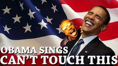 """President Obama Sings """"Can't Touch This"""""""