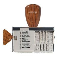 Fechador Marrón Studio Calico   Up & Scrap Tu tienda de Scrapbooking