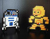 Star Wars R2-D2 Pin Fan Art Brooch or Keychain Accessory. €5.90, via Etsy.