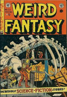 Cover for Weird Fantasy (1951 series) #22