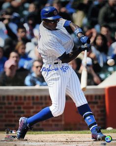 Alfonso Soriano Swing Vertical 16x20 Photo - AUSORIANO16PC2 (MLB Auth Only)