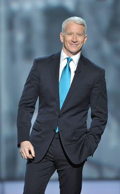 From the Shrine Auditorium Anderson Cooper opened the program ~ Anderson presented one of the ten individual awards to CNN Hero, Sal Di. Anderson Copper, Gorgeous Men, Beautiful People, Stars Then And Now, Sharp Dressed Man, Older Men, Gentleman Style, Attractive Men, Stylish Men