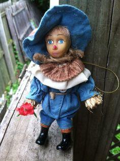 "Collectible Porcelain Wizard of Oz ""Scarecrow"" Ornament"