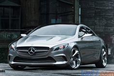 New Mercedes-Benz Concept Style Coupé via Km77.com