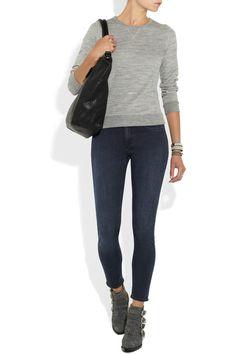 Acne Skin 5 Pocket mid-rise skinny jeans NET-A-PORTER.COM