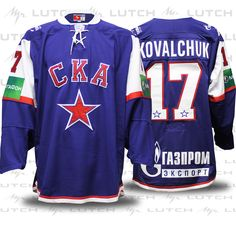 7ee69f2ca22 Ilya Kovalchuk, Alexander Ovechkin, Ice Hockey Jersey, Evgeni Malkin, Ska