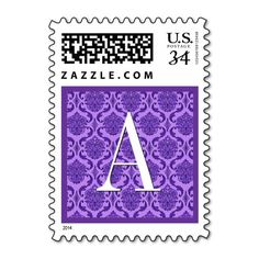 Purple Damask Monogram Wedding Stamp you will get best price offer lowest prices or diccount couponeDiscount Deals          Purple Damask Monogram Wedding Stamp Online Secure Check out Quick and Easy...