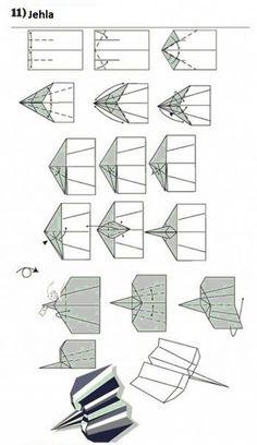 38 Ideas origami paper airplanes design for 2019 Paper Airplane Models, Paper Models, Paper Planes, Best Paper Plane, Paper Aircraft, Airplane Design, Paper Quilling Designs, Shuriken, Quilling Techniques