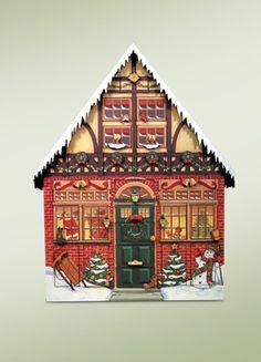 Byers' Choice – Advent Calendars on Pinterest   Advent Calendar ...