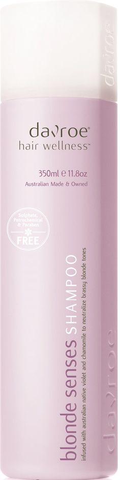 Davroe Blonde Senses Shampoo Idea for maintaining blonde or grey hair,neutralising unwanted brassy tones