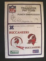 NFL Tampa Bay Buccaneers Transfer Pattern Embroidery $7.99 BUC UP!