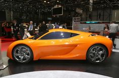 Hyundai Tasked The European Institute Of Design With Styling A Sports Car For Millennials Called The Passocorto The Concept Makes Its Debut In Geneva