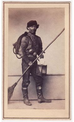 vintage chimney sweep photograph - Google Search