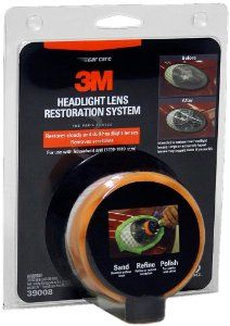 3M 39008 Headlight Lens Restoration System List Price:	$24.99  Price:	$15.50  & eligible for FREE Super Saver Shipping  http://www.amazon.com/gp/product/B001AIZ5HY/ref=as_li_ss_tl?ie=UTF8=1789=390957=B001AIZ5HY=as2=watches050b-20  find more items like this at www.ddsgiftshop.com/automotive visit and like us on facebook here www.facebook.com/pages/DDs-Gift-Shop/113955198649056