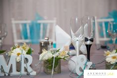 Turcoaz de primavara Flute, Champagne, Table Decorations, Tableware, Floral, Blog, Design, Home Decor, Dinnerware