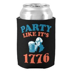 Party Like Its 1776 Can Cooler
