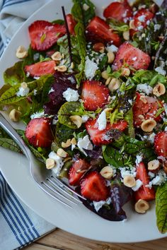 - For more information visit: http://www.scalingbackblog.com/uncategorized/strawberry-hazelnut-and-ricotta-salad/