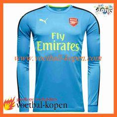 888d17937 Nieuwste Arsenal Doelman Voetbalshirts Blauw 2016 2017 NL