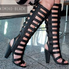 The Ultimate Gladiator Heels by Michael Antonio