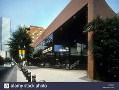 Download this stock image: Discovery Place, Science Museum and Aquarium, on Tryon Street in Charlotte, NC. - C23X29 from Alamy's library of millions of high resolution stock photos, illustrations and vectors.