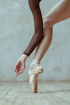 détail ballerine