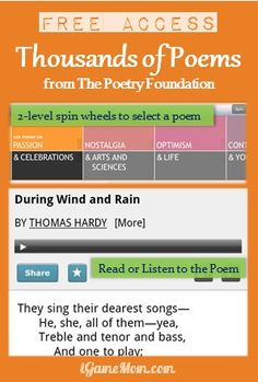 Love to letter poetry in my journal. Free Poetry App with poems, updated monthly with new poems. Free Educational Apps, Educational Technology, Poetry Unit, Writing Poetry, Teaching Poetry, Teaching Reading, 6th Grade Reading, Poetry Foundation, Poetry Lessons