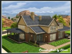 The Sims Resource: Cromer Hall by olivas • Sims 4 Downloads