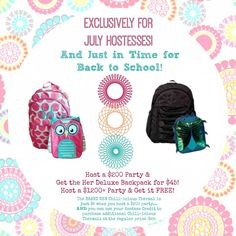 July 2014 Hostess exclusive