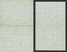 Mourning Letter 1887 - Black Trim - Bay City, Michigan - Presley to Barrows