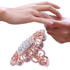 Fashion-Classic-CZ-Rhinestone-18K-Rose-Gold-Plated-Ring-Women-Engagement-Ring-CN