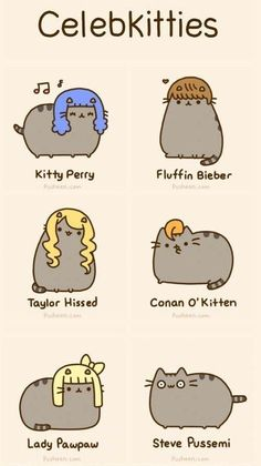 Celeb look-alike cats :P