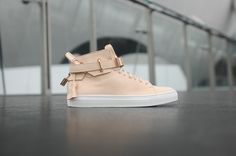 Ronnie Fieg x Buscemi 100MM - Veg Tan / Rose Gold | Kith NYC